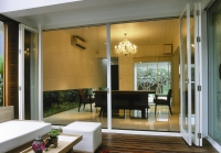 Phantom expands it product categories to include two custom installed manual retractable screen options for folding door systems and large doorways.