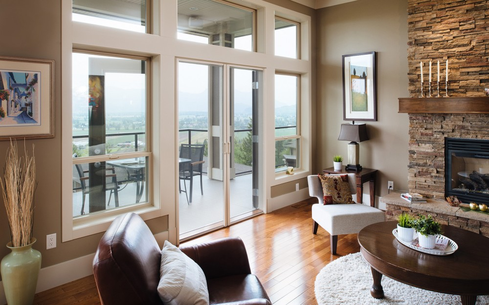 Phantom retractable screens are perfect for French doors!